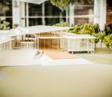 Siebel Center for Design - model on display at Art + Design Building